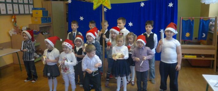 Występ dzieci z oddziału przedszkolnego